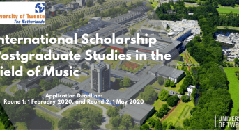Holland funding for Non- EU/EEA Students to study at the University of Twente in the Netherlands