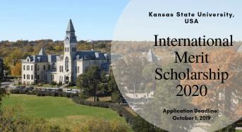Kansas State University International Merit Scholarship in the USA