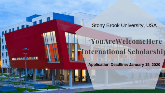 Stony Brook University #YouAreWelcomeHere International Scholarship in the USA