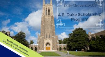 A.B. Duke program at Duke University in the US