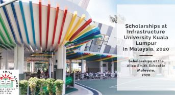 Scholarships at the Alice Smith School in Malaysia, 2020