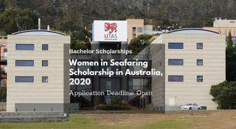 Women in Seafaring Scholarship in Australia, 2020