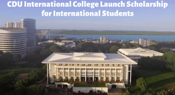 CDU International College Launch funding for International Students in Australia