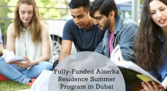Fully-FundedAlserka Residence Summer Program in Dubai, 2020