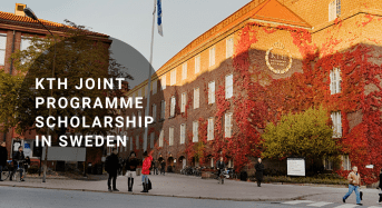 KTH Joint Programme Scholarship in Sweden