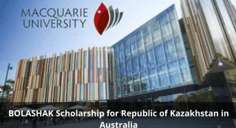 BOLASHAK funding for Republic of Kazakhstan in Australia
