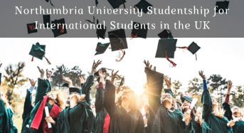 Northumbria University Studentship for International Students in the UK