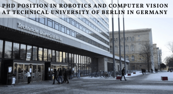 PhD Position in Robotics and Computer Vision at Technical University of Berlin in Germany