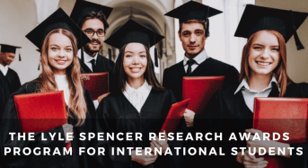 The Lyle Spencer Research Awards Program for International Students