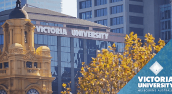 Victoria University Business Chicks competition in Australia, 2020