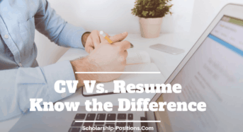 CVVs Resume– Know the Difference