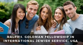 Ralph I. Goldman Fellowship in International Jewish Service, USA