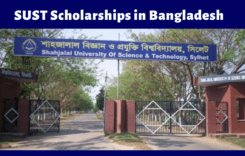 Shahjalal University of Science & Technology Scholarships in Bangladesh