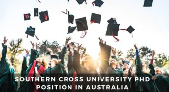 Southern Cross University PhD Position in Australia
