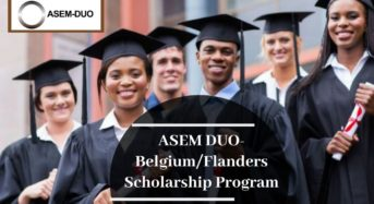 ASEM DUO-Belgium/Flandersprogram for International Students, 2020