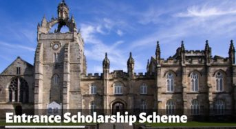 Entrance Scholarship Scheme at the University of Aberdeen, United Kingdom