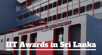 Informatics Institute of Technology Awards in Sri Lanka