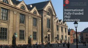 International Fully-FundedPhD Fellowship in Vascular Physiology at the University of Copenhagen