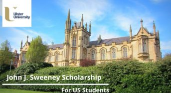 John J. Sweeney funding for US Students at Ulster University, UK