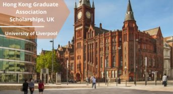 University of Liverpool Hong Kong Graduate Association Scholarships, UK